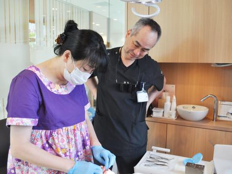 昨日、光希歯科医院の永井光希子先生が来院されました!☺️💛