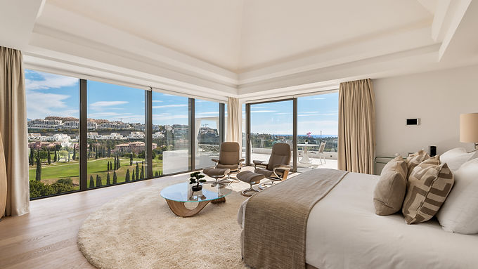 Ultra spacious Modern 8 Bedroom Villa in Los Flamingos Golf Resort
