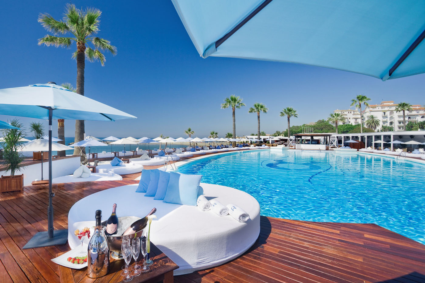 Chill out in the best beach clubs