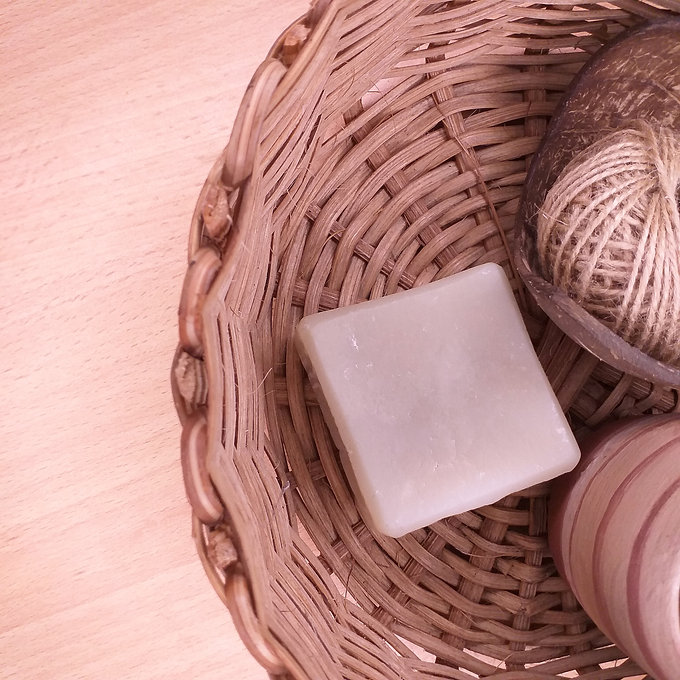 The Earthed! Bar Soap in Basket