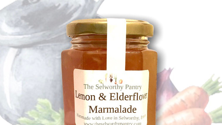 Lemon & Elderflower Marmalade