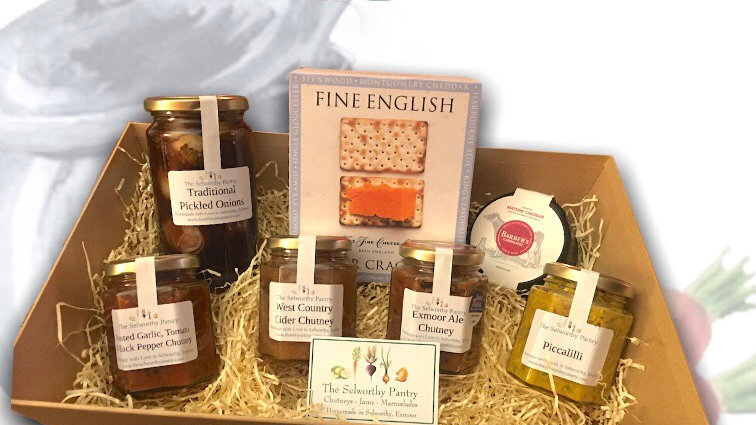 Somerset Cheese & Chutney Hamper