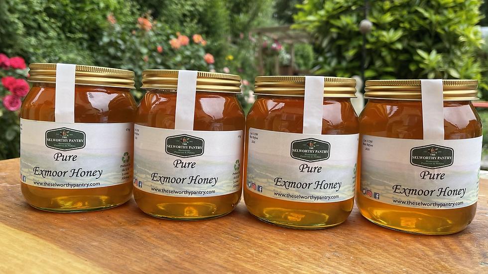 Pure Exmoor Honey