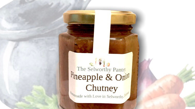 Pineapple & Onion Chutney
