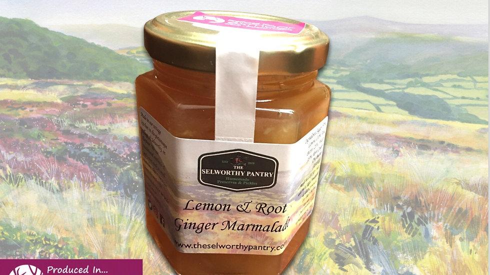 Lemon & Root Ginger Marmalade