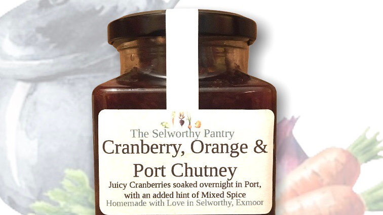 Cranberry, Orange & Port Chutney