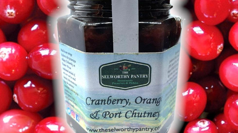 Cranberry, Orange & Port Chutney
