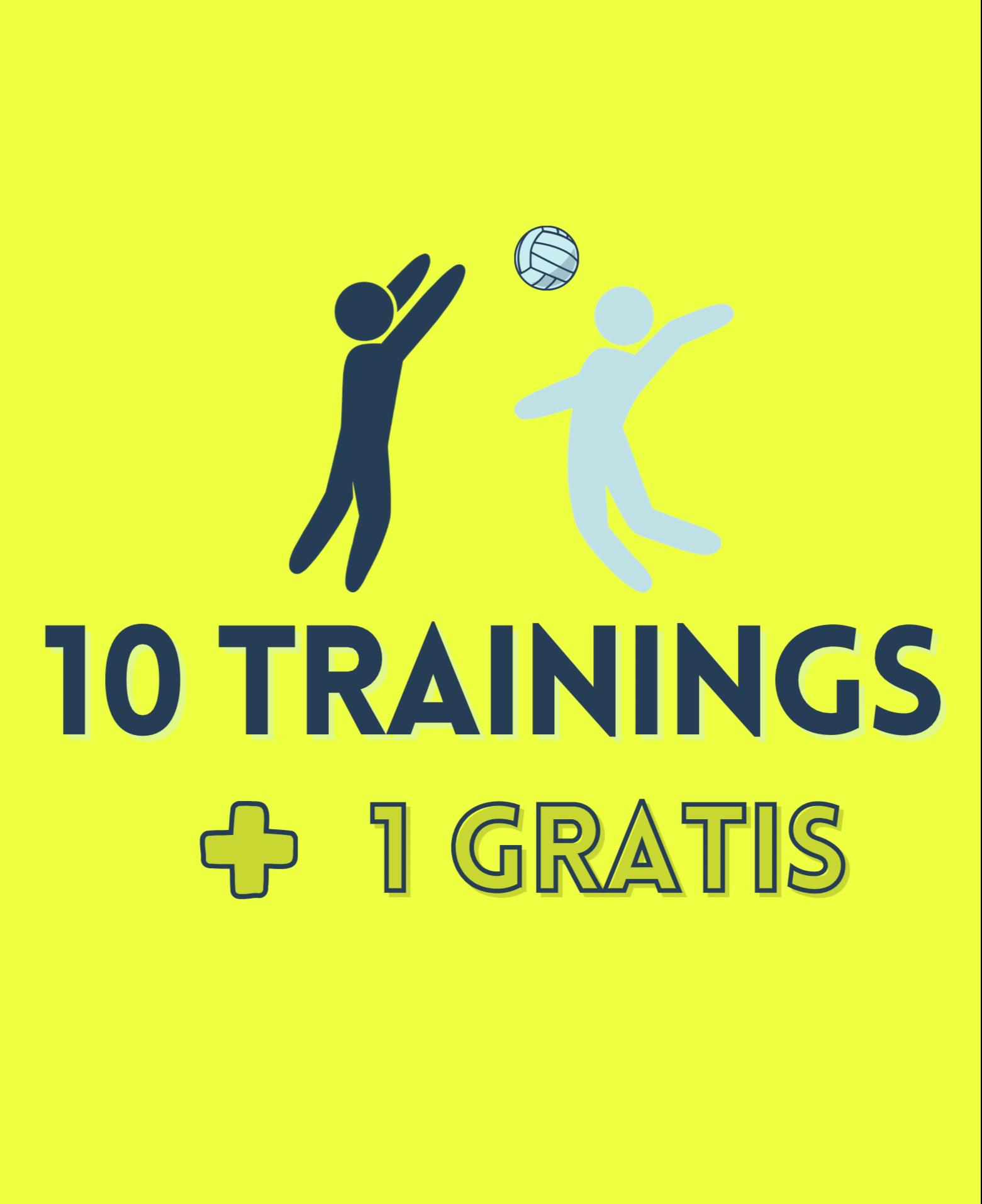10 Trainings + 1 Gratis