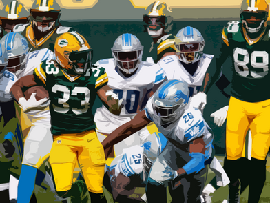 Packers march over Lions