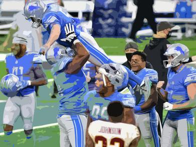 Lions dash Washington's comeback with last second FG