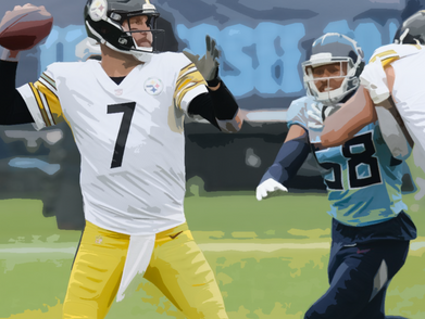Steelers survive Titans on the road