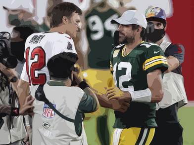 Brady and the Bucs sail past the Packers