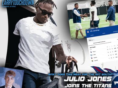 Julio Jones Joins Titans: AFC South