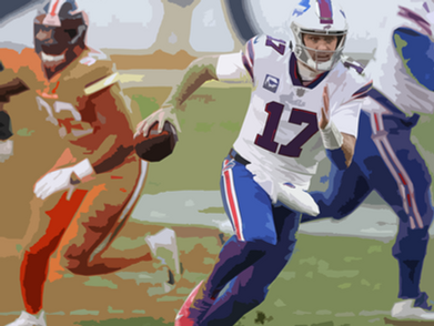 The Bills Bully the Denver Broncos