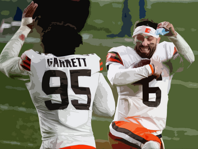 Browns stun Steelers, 1st playoff win in 27 years