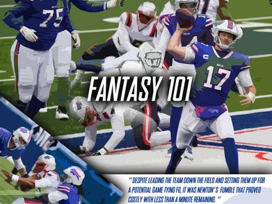 Fantasy 101: Bills hold off Patriots late rally
