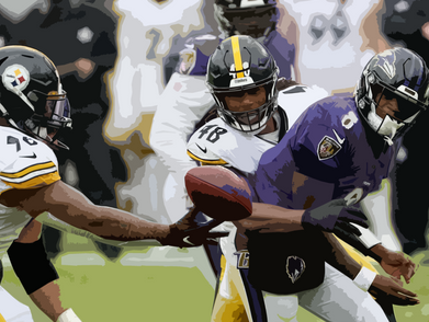 Steelers close the curtain on Ravens