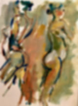 Double Back. oil:paper452.jpg