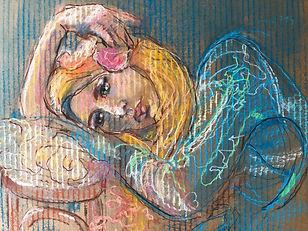 'Resting'pastel.38:46cm.jpg