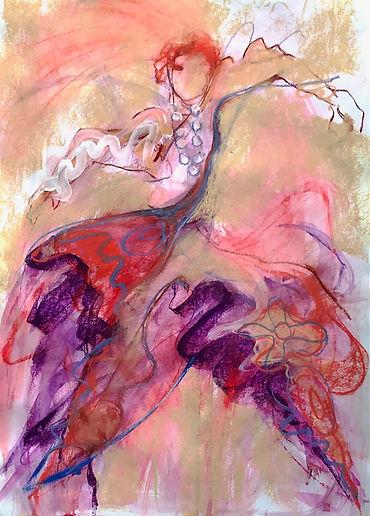 'Zoe's Zenith'pastel&gouache.60:42cm.jpg