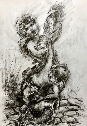 L.Dunbar'Putti'graphite.jpg