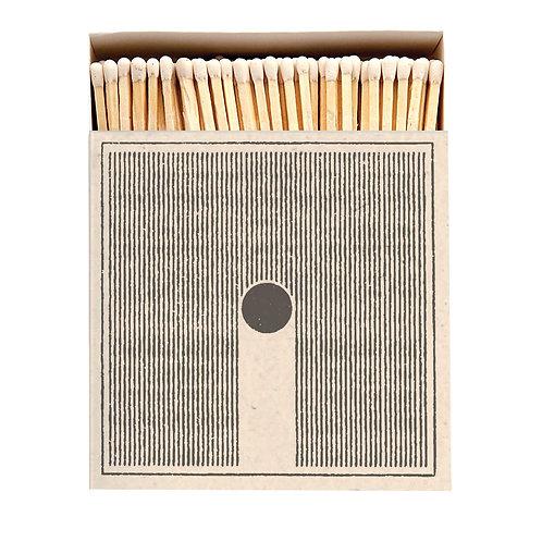 Rain Matches in Square Printed Matchbox