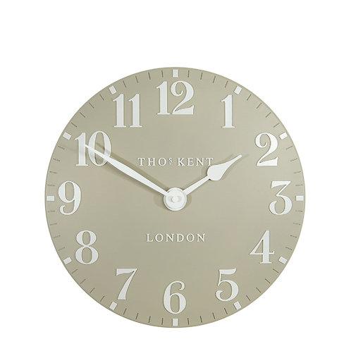 12 Inch Arabic Pebble Wall Clock