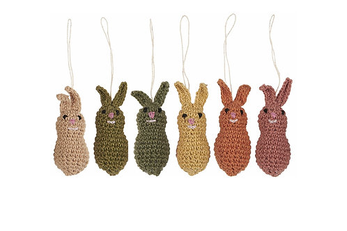 Crocheted Easter Bunny - Assorted designs available