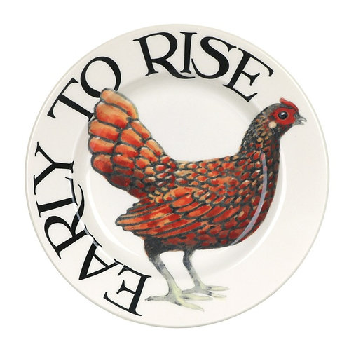 Rise & Shine Early to Rise 6 1/2 Inch Plate