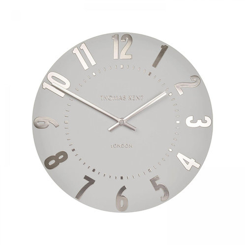 Mulberry Silver Cloud Wall Clock