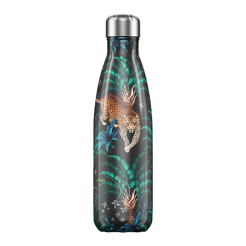 Tropical Leopard 500ml Chilly's Water Bottle