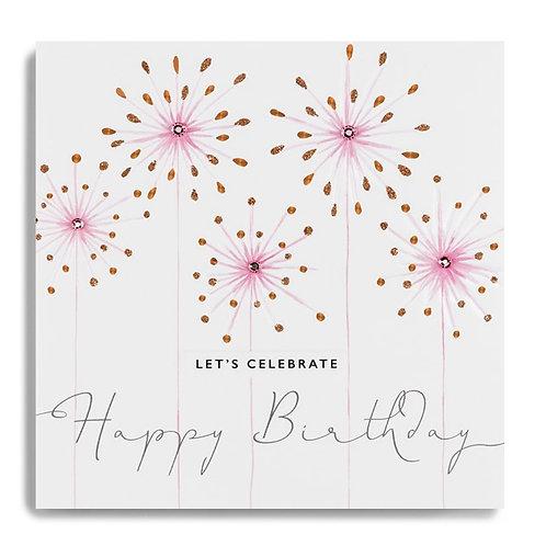 Happy Birthday - Let's celebrate