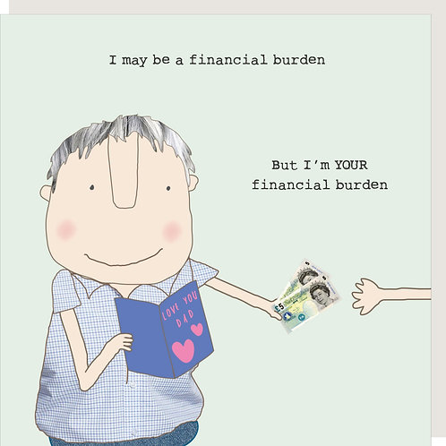 Father's Day Card - Burden Dad