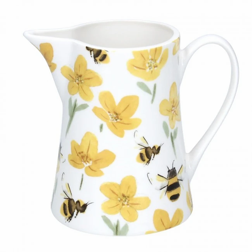 Ceramic Jug, Small - Buttercup/Bee