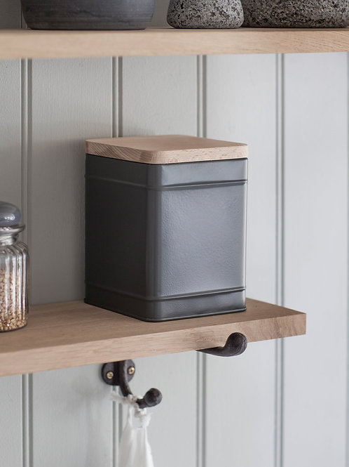 Steel Borough Canister in Grey