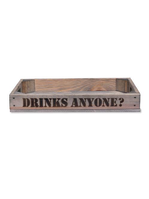 Wooden Drinks Anyone? Tray