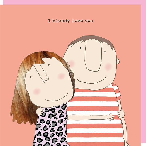 Valentine's Day Card - Bloody Love You (V)