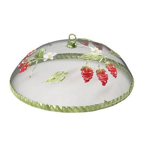 Strawberry Round Food Cover