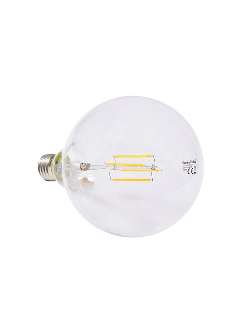 LED E27 Globe 12.5cm 8W 2700K Glass