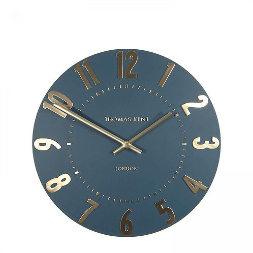 12 Inch Mulberry Midnight Blue Clock