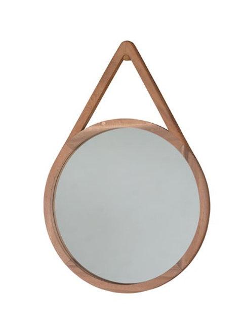 Natural Hardwood Enso 60 Mirror