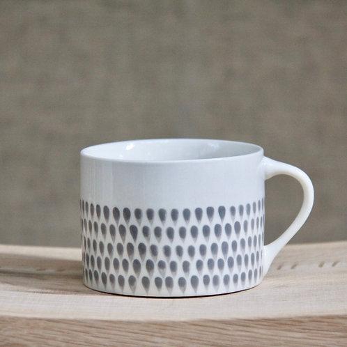 Nkuku Grey Drop Mug