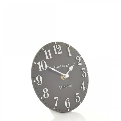 "6"" Arabic Mantel Clock Dolphin"