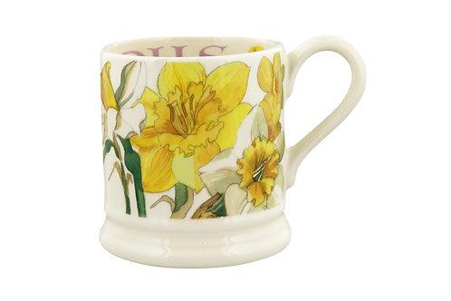 Flowers Daffodils 1/2 Pint Mug