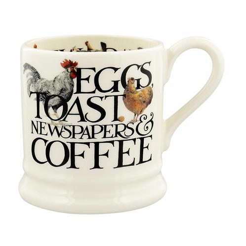 Rise & Shine Eggs & Toast 1/2 Pint Mug