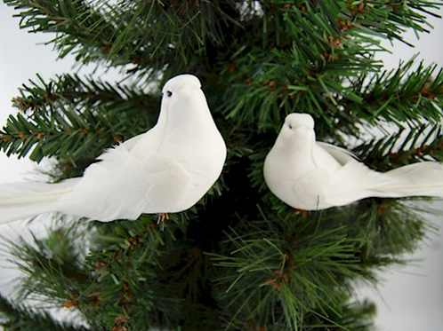 Assorted Doves with Clips