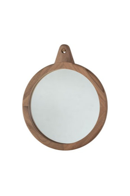 Natural Hardwood Enso 40 Mirror