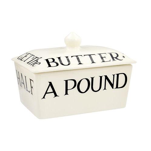Emma Bridgewater Small Black Toast Butter Dish