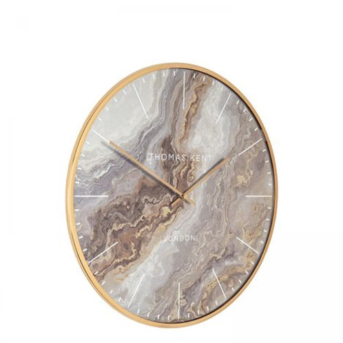 Oyster Wall Clock – Bronze