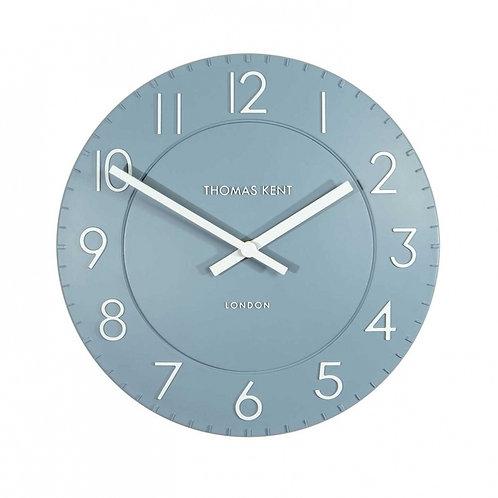 12 Inch Denim Townhouse Clock